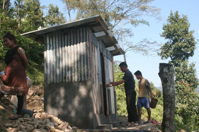 Build a Toilet at a Rural Primary School