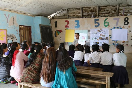 Community delivered health education